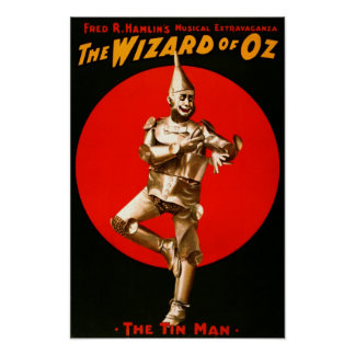 The Wizard of Oz - vintage theatrical poster