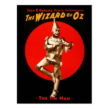 HTMimages The Wizard of Oz - vintage theatrical poster Postcard