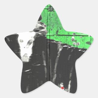 The Wizard Star Sticker