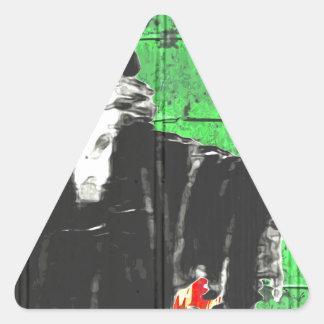 The Wizard Triangle Sticker