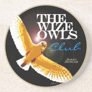 The WizeOwls Club Drink Coasters