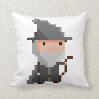 The WizirdPillow : Good and Evil Throw Pillow