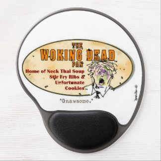 The woking dead fun caricature, check the spelling gel mouse pad