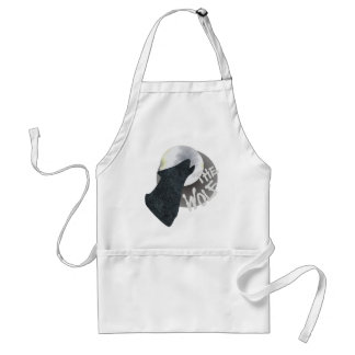 the wolf adult apron