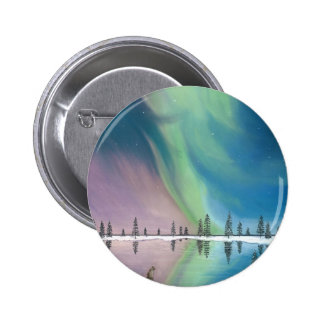 The Wolf and The Comet.jpg 2 Inch Round Button