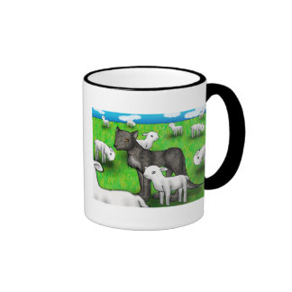 """The Wolf and the Lamb"" Mug"