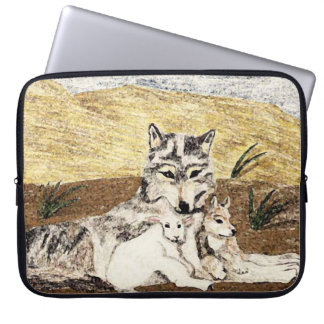 The Wolf And The Lamb Will Dwell Together Laptop Sleeve