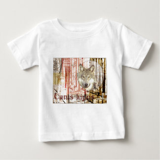The Wolf (canis lupus) Infant T-shirt