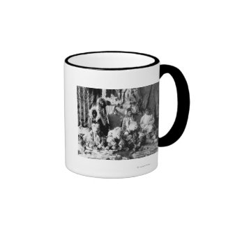 The Wolf dance of the Kaviagamutes Coffee Mugs