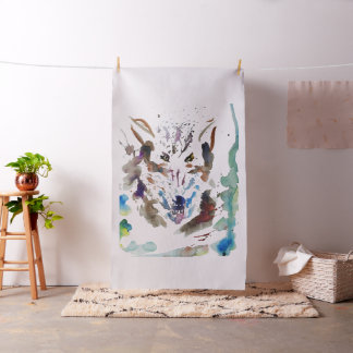 ''The wolf'' Fabric