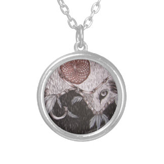The Wolf is Watching Personalized Necklace