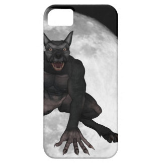 The wolf man iPhone 5 Case