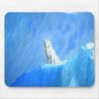 The Wolf Mouse Pad