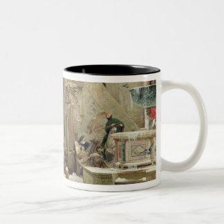 The Wolf of Gubbio, 1877 Coffee Mugs