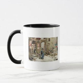 The Wolf of Gubbio, 1877 Mug