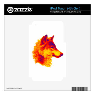 THE WOLF PAUSE iPod TOUCH 4G SKINS