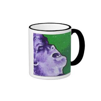 """""""the Wolf"""", Ringer Mug"""