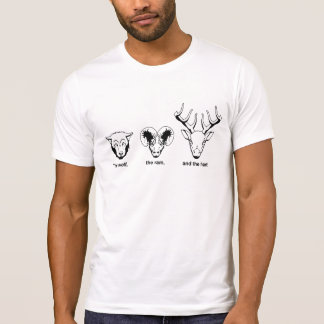 The wolf, the ram, and the hart T-Shirt