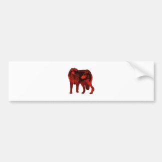 The Wolf Within Bumper Sticker