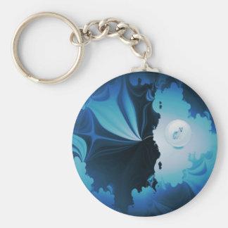 The Wolf Within.jpg Basic Round Button Keychain