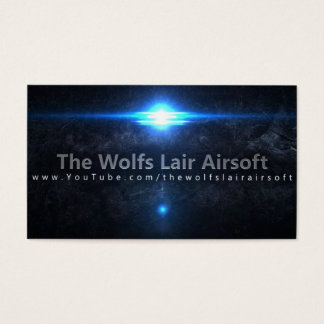The Wolf's Lair Airsoft Business Cards