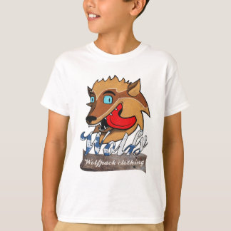 The Wolfy Splatter Kid's Tee