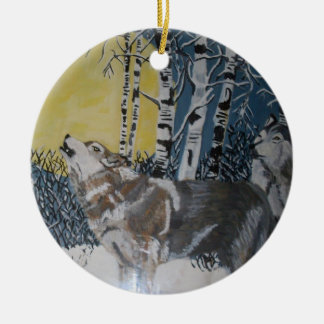 THE WOLVES ornament