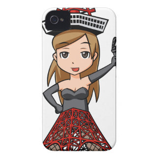 The woman English story, Minato Tokyo Yuru-chara a iPhone 4 Cover