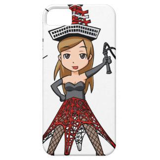 The woman English story, Minato Tokyo Yuru-chara a iPhone SE/5/5s Case