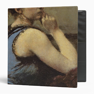 The Woman in Blue, 1874 Vinyl Binder