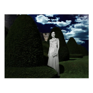 The Woman in White Postcard
