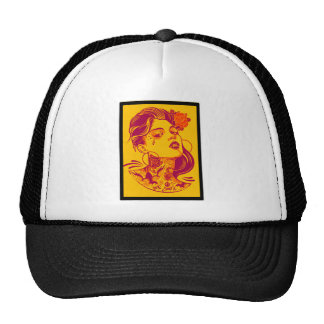 THE WOMAN LOVE HATS