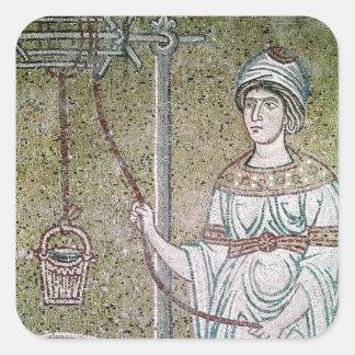 The Woman of Samaria Square Sticker