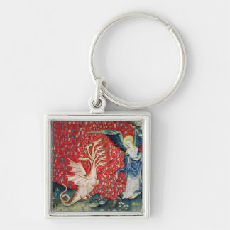 The Woman Receiving Wings to Flee the Dragon Keychain