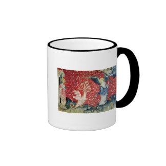 The Woman Receiving Wings to Flee the Dragon Coffee Mugs