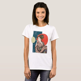 """The woman T shirt which blows harmony"