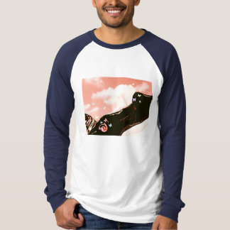 The woman T shirt which sprawls in the cloud