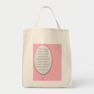 The Woman We All Endeavor to Be Tote Bag