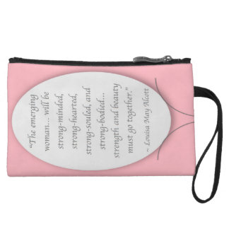 The Woman We All Endeavor to Be Wristlet Wallet