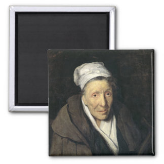 The Woman with Gambling Mania, 1819-24 2 Inch Square Magnet