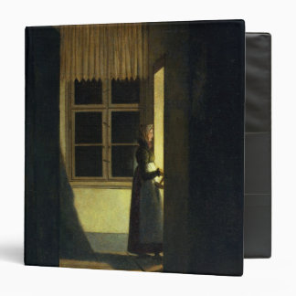 The Woman with the Candlestick, 1825 3 Ring Binder