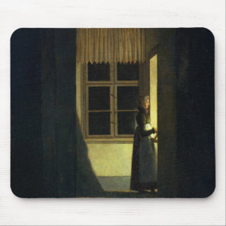The Woman with the Candlestick, 1825 Mouse Pad