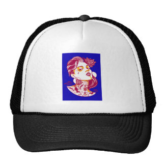 THE WOMANS HOT TRUCKER HAT
