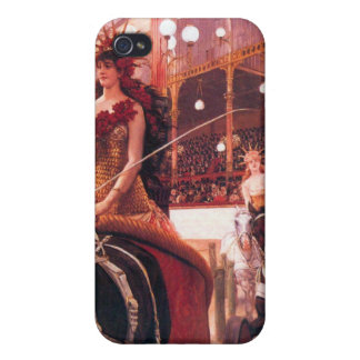 The women in the cars by James Tissot iPhone 4/4S Cases