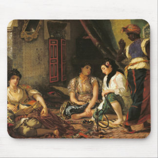 The Women of Algiers in their Apartment, 1834 Mouse Pad