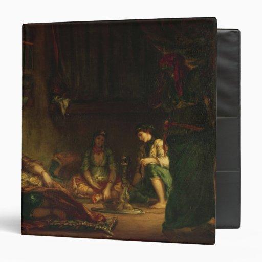 The Women of Algiers in their Harem, 1847-49 Binder