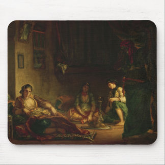 The Women of Algiers in their Harem, 1847-49 Mouse Pads