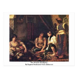 The Women Of Algiers Postcard