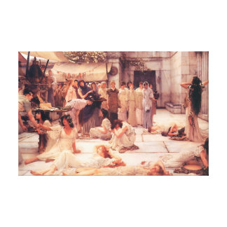 The Women Of Amphissa - Canvas Reproduction Gallery Wrap Canvas