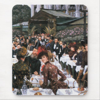 The women of the artist by James Tissot Mouse Pad